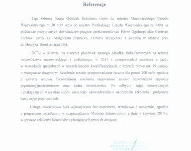 LOK Ośrodek Szkolenia w Ostrołęce